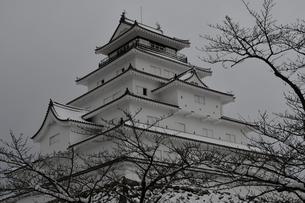 鶴ヶ城 会津若松の写真素材 [FYI03141735]
