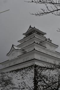 鶴ヶ城 会津若松の写真素材 [FYI03141736]