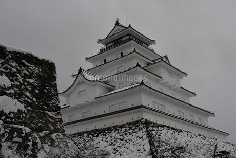 鶴ヶ城 会津若松の写真素材 [FYI03141737]