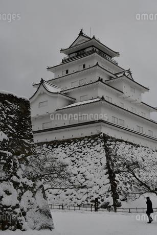 鶴ヶ城 会津若松の写真素材 [FYI03141738]