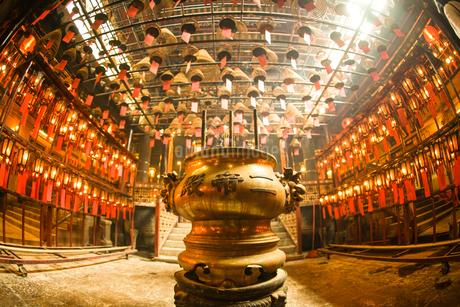 香港・文武廟の写真素材 [FYI03141868]