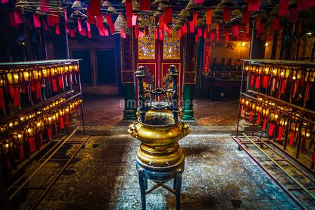 香港・文武廟の写真素材 [FYI03141929]
