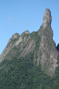 リオ州の奇岩デッド・デ・デウスの写真素材 [FYI03142132]