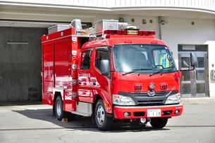 消防ポンプ車119の写真素材 [FYI03142142]
