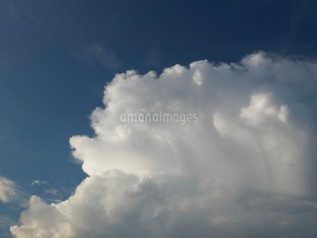 晩夏の積乱雲の写真素材 [FYI03142436]