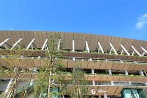 新国立競技場の写真素材 [FYI03142444]