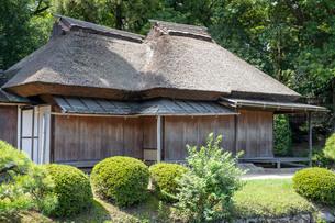 後楽園の日本家屋の写真素材 [FYI03142490]