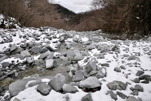 冬のゴーラ沢の写真素材 [FYI03142523]