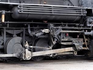 米コロラド州デュランゴシルバートン狭軌鉄道の蒸気機関車の側面の写真素材 [FYI03142798]