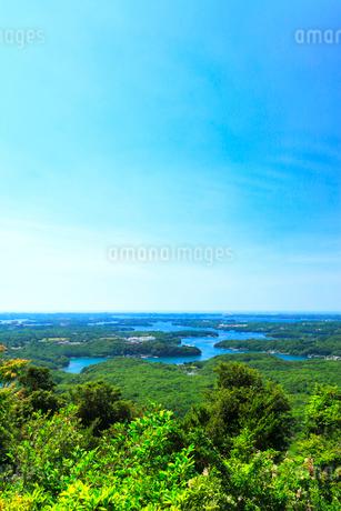 横山展望台より英虞湾の島々を望むの写真素材 [FYI03144073]