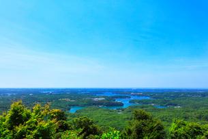 横山展望台より英虞湾の島々を望むの写真素材 [FYI03144074]