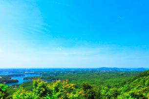 横山展望台より英虞湾の島々を望むの写真素材 [FYI03144075]