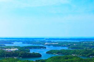 横山展望台より英虞湾の島々を望むの写真素材 [FYI03144077]