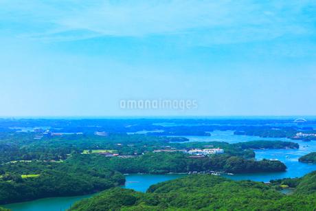 横山展望台より英虞湾の島々を望むの写真素材 [FYI03144078]