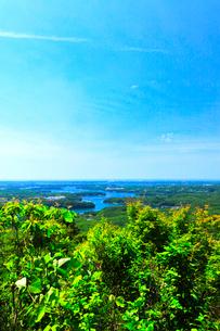 横山展望台より英虞湾の島々を望むの写真素材 [FYI03144079]