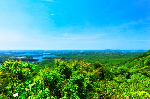 横山展望台より英虞湾の島々を望むの写真素材 [FYI03144080]