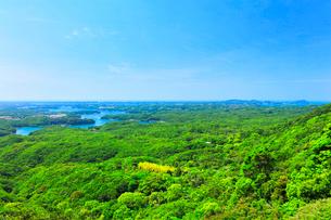 横山展望台より英虞湾の島々を望むの写真素材 [FYI03144081]