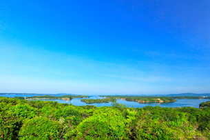 ともやま公園桐垣展望台より英虞湾の島々の写真素材 [FYI03144084]