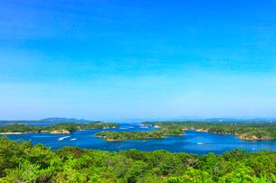 ともやま公園桐垣展望台より英虞湾の島々の写真素材 [FYI03144085]