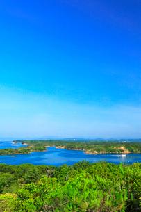 ともやま公園桐垣展望台より英虞湾の島々の写真素材 [FYI03144088]