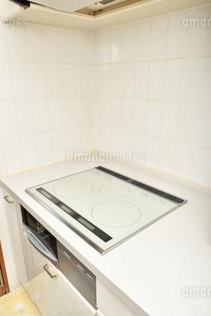 システムキッチン(IHクッキングヒーター)の写真素材 [FYI03144279]