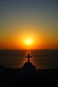 ミコノス島のSunsetの写真素材 [FYI03144659]
