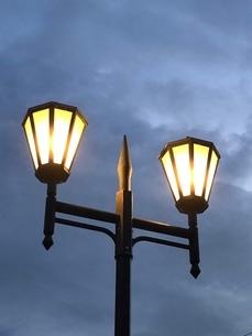街灯の写真素材 [FYI03144707]