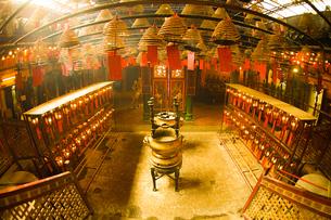 香港・文武廟の写真素材 [FYI03144890]