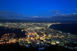 函館の夜景の写真素材 [FYI03145040]