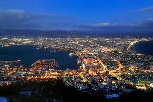 函館の夜景の写真素材 [FYI03145046]