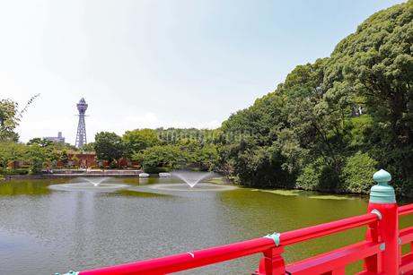 大阪・天王寺公園の写真素材 [FYI03145359]