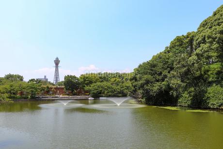大阪・天王寺公園の写真素材 [FYI03145360]
