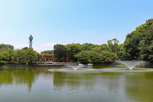 大阪・天王寺公園の写真素材 [FYI03145365]