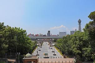 大阪・天王寺公園の写真素材 [FYI03145372]