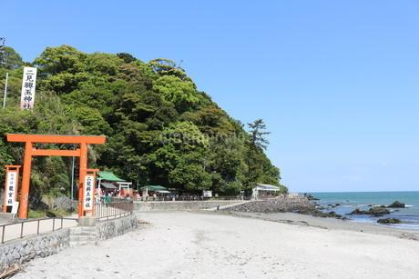 三重県 伊勢市 夫婦岩近辺の写真素材 [FYI03145391]