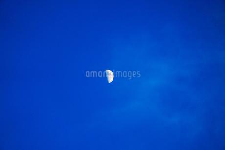 月とクレーターの写真素材 [FYI03145439]