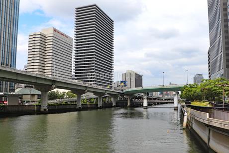 水都・大阪の風景の写真素材 [FYI03145985]