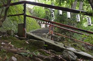 石山寺階段1の写真素材 [FYI03146223]
