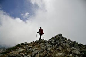 登山者の写真素材 [FYI03146315]