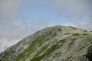 立山の北峰の写真素材 [FYI03146320]