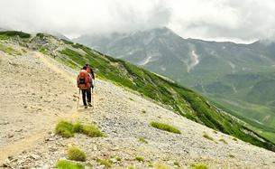 登山者の写真素材 [FYI03146332]