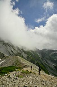 登山者の写真素材 [FYI03146338]