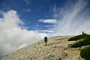 登山者の写真素材 [FYI03146339]