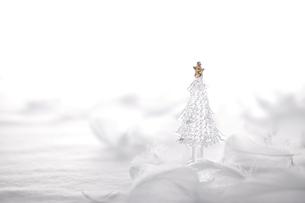 ガラスのクリスマスツリー  の写真素材 [FYI03146678]
