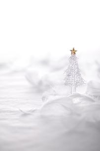 ガラスのクリスマスツリーの写真素材 [FYI03146680]