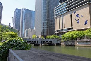 大阪・中之島の風景の写真素材 [FYI03146789]