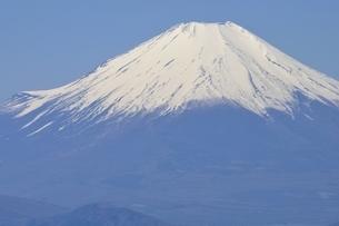 富士と青空の写真素材 [FYI03147029]