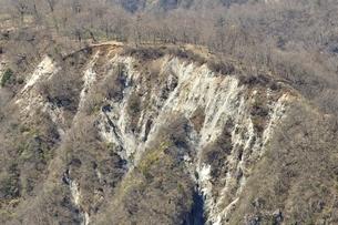 臼ヶ岳の絶壁の写真素材 [FYI03147033]