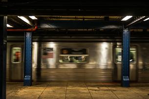 ニューヨークの地下鉄のイメージの写真素材 [FYI03147208]