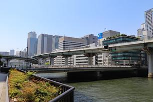 水都・大阪の街並みの写真素材 [FYI03147592]